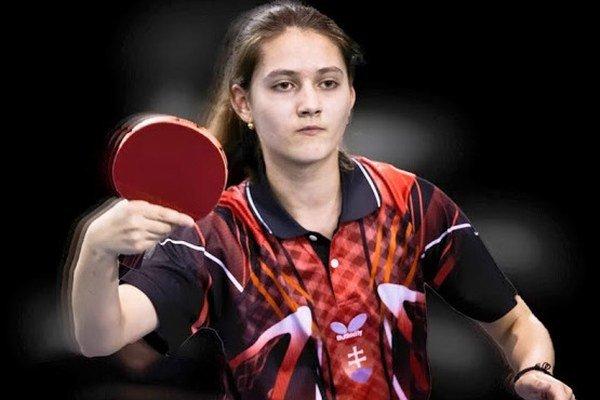 Katarína Belopotočanová má iba 15 rokov, no už súťažila medzi juniorkami.