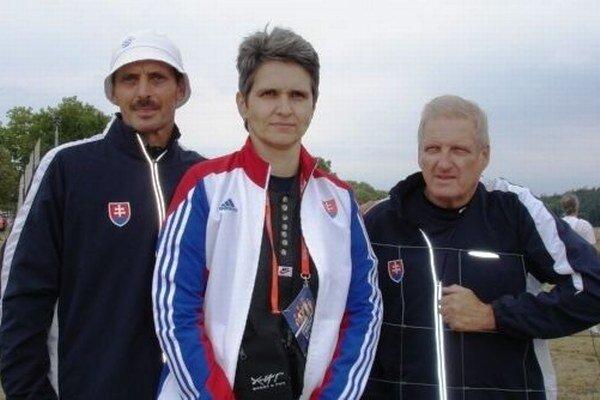 Zľava Peter Sládek, Katarína Marettová a Jaroslav Lupák.