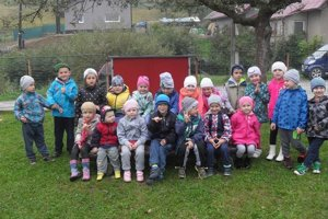 Štefanovskí škôlkari.