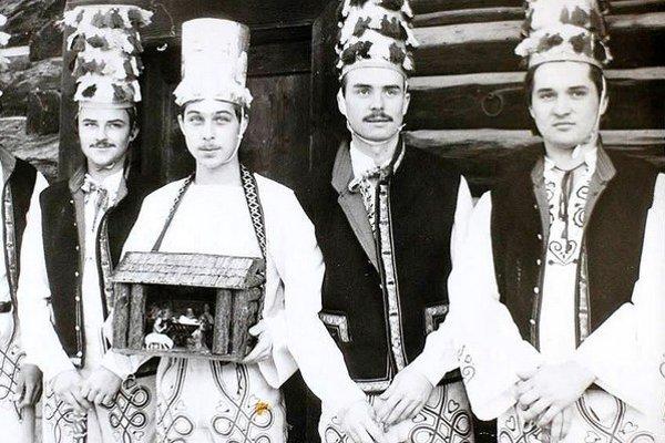 Betlehemci z Nižnej v roku 1987.