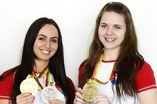 Snežana Babejová a Andrea Kušnieriková opäť zažiarili.
