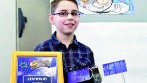 Samuel Petrík ešte ako 10-ročný školák.