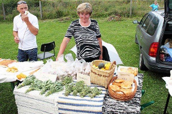 Tovar zo záhrady či z kuchyne na Švábkobraní slávil úspech.