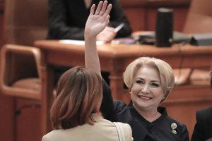 Rumunská premiérka Viorica Dancilová.