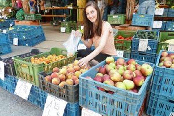 Farmárske trhy dajú možnosť domácim pestovateľom, chovateľom a výrobcom.