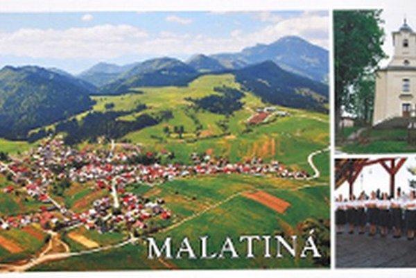 Malatinčania využili prednú aj zadnú stranu svojej prvej pohľadnice.