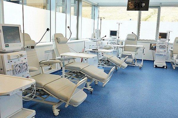 Dialyzačné stredisko v Trstenej.