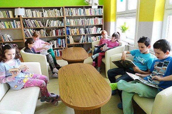 Nové priestory sa deťom páčia.