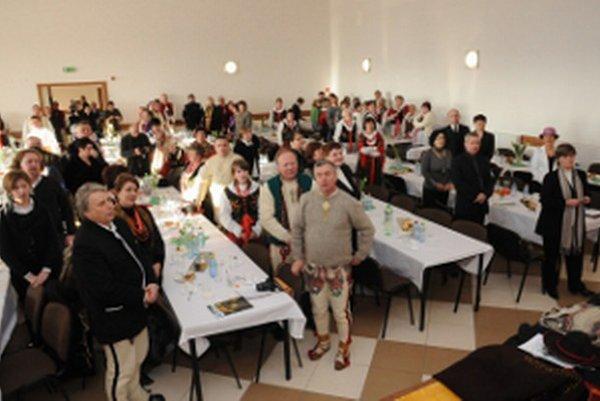 Stretnutie Goralov bolo aj na obecnom úrade v Oravskej Polhore.