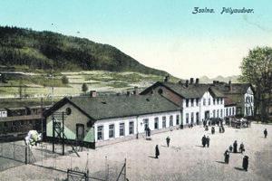 Záber z roku 1920.