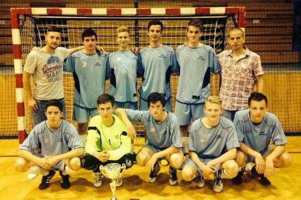 Víťazné mužstvo futsalistov z Tvrdošína.