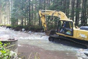 Práce po povodniach