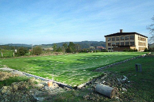 Na nové športovisko obec šetrila päť rokov.