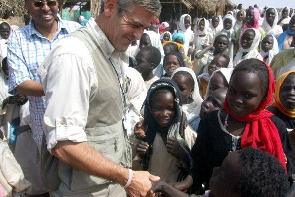 George Clooney c Dárfúre.
