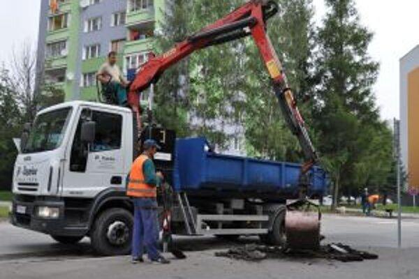 Oprava ciest a chodníkov v Dolnom Kubíne stála 50-tisíc eur.