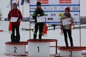 Mladý talent Dianka Matysová na bronzovom stupienku.
