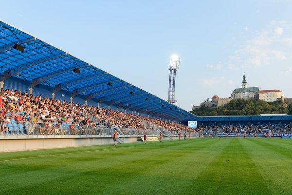 Zrekonštruovaný futbalový štadión FC Nitra.