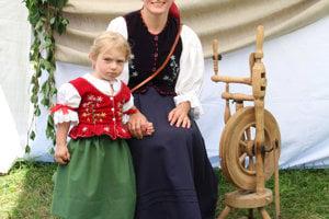 Katarína a Elenka Matištíkové zo Zuberca