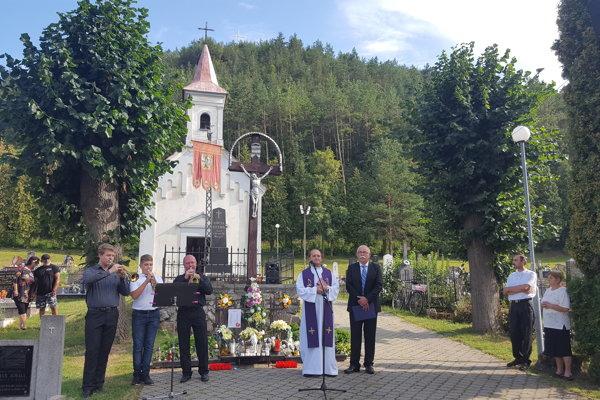 Spomienka na cintoríne v Nitrici.