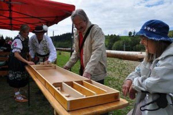 Tradičnú holandskú hru sjolen si zahrali aj Gorali.
