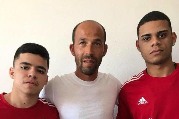 Posily z Brazílie s trénerom Mariánom Berkym.