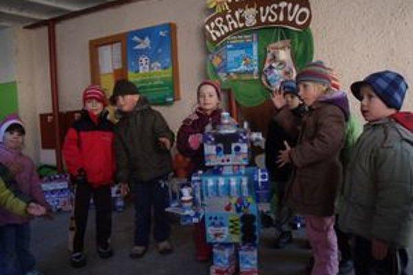 Deti v mliečnom kráľovstve.