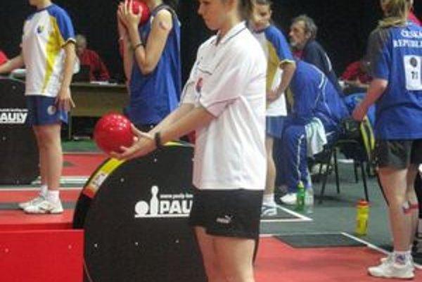 Eva Štefanidesová na svetovom šampionáte brala s družstvom najcennejšiu medailu.