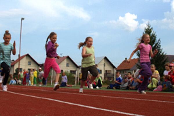Školáci si aktívny Deň detí naplno užili.
