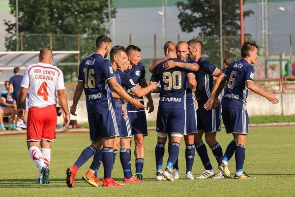 Popradskí futbalisti si v týždni zgustli na Starej Ľubovni, Skalica bude nepochybne tvrdší oriešok