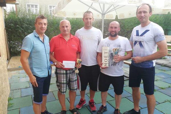 Zľava: Stanislav Cyprich, Milan Špalek, Juraj Vrba, Martin Šefrana, Tomáš Urbaník.