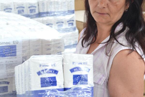 O potravinovú pomoc požiadalo v Oravskej Polhore až 270 ľudí.