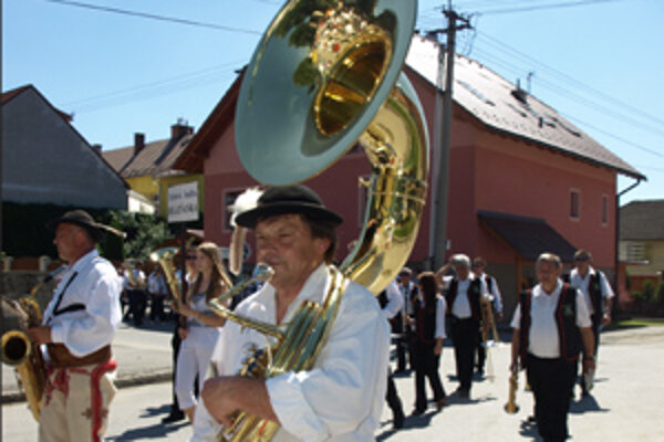Na Oravskej fanfáre sa predstavili dychové hudby zo Slovenska i Poľska.