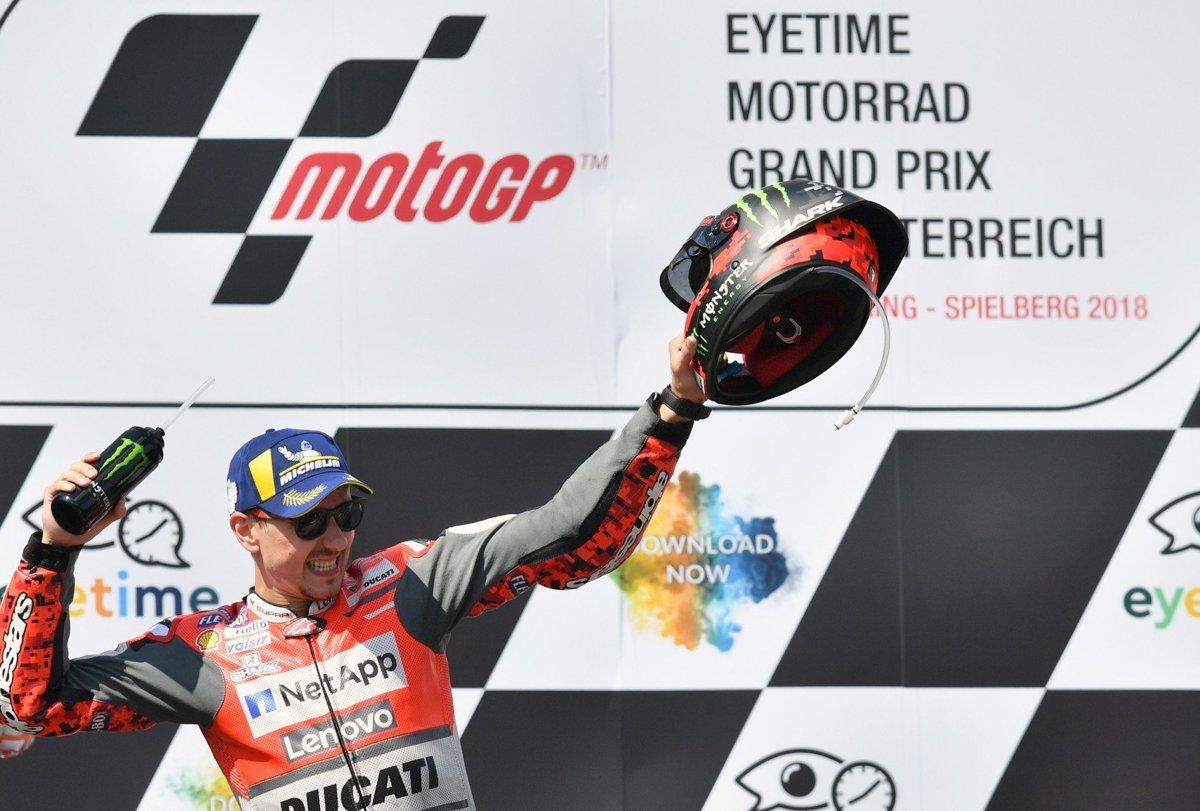 f0bc8346b3 Španiel Jorge Lorenzo na Ducati.