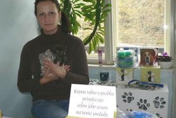 Renáta Haverlová chce v Dolnom Kubíne otvoriť útulok pre nechcené zvieratá.