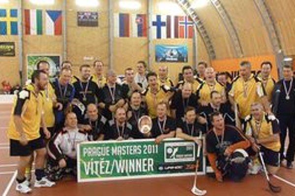 Finalisti turnaja v Prahe.