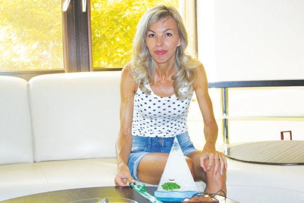 Vytrvalostná bežkyňa aúspešná maratónkyňa Ingrid Petnuchová.