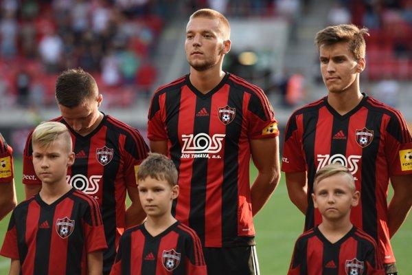 Tomáš Vantruba zažil v drese A-tímu Spartaka Trnava premiéru.