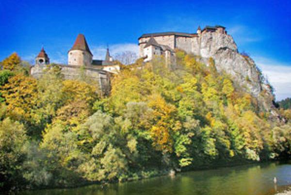 Najnavštevovanejší hrad v Žilinskom kraji - Oravský hrad.