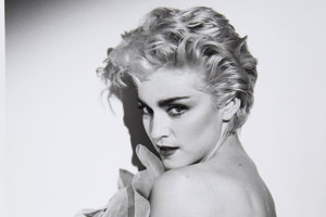 Portrét speváčky Madonny od známeho fotografa Herba Rittsa.