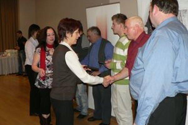 Územný spolok SČK Orava oceňoval darcov krvi.