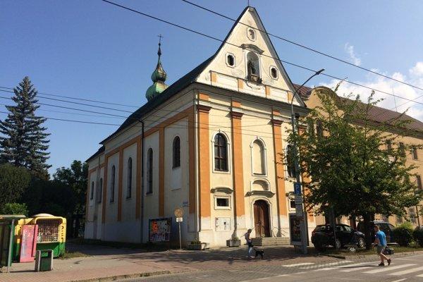 Kostol sv. Barbory.