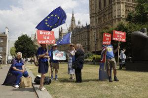 V Británii je stále niekoľko ľudí, ktorí veria, že brexit by sa nakoniec konať nemusel.