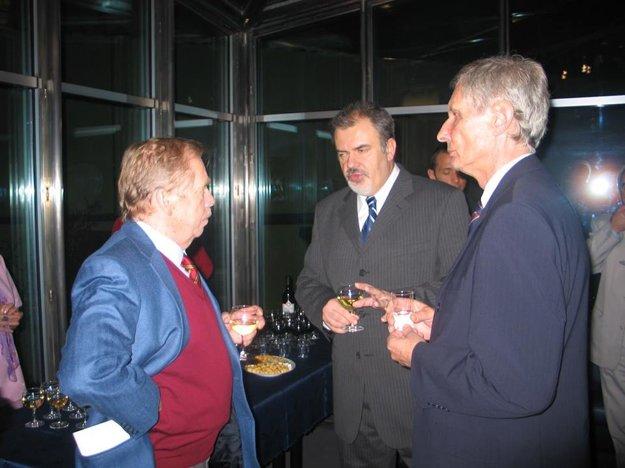 S Václavom Havlom a Ladislavom Ballekom