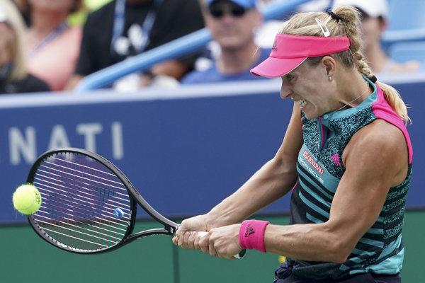 Angelique Kerberová nasadená ako štvrtá prehrala s Američankou Madison Keysovou.