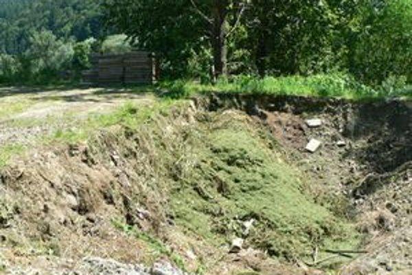 Nové kompostovisko. Miesto na ukladanie biologicky rozložiteľného odpadu doteraz v Hornej Lehote chýbalo.