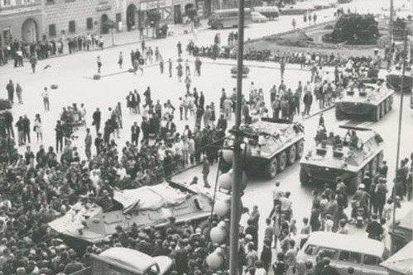 Horúci august 1968 v uliciach Banskej Bystrice