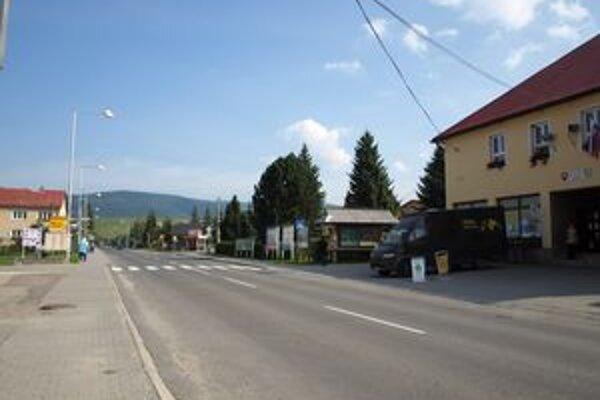 Ak sa samospráve podarí získať potrebné peniaze z eurofondov, stred dediny sa zmení na nepoznanie.