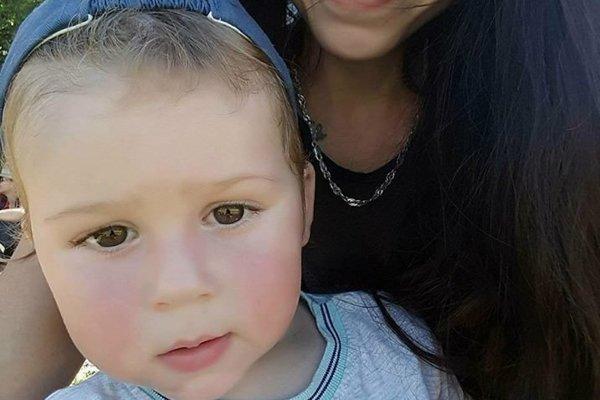 Jakubko s mamou.