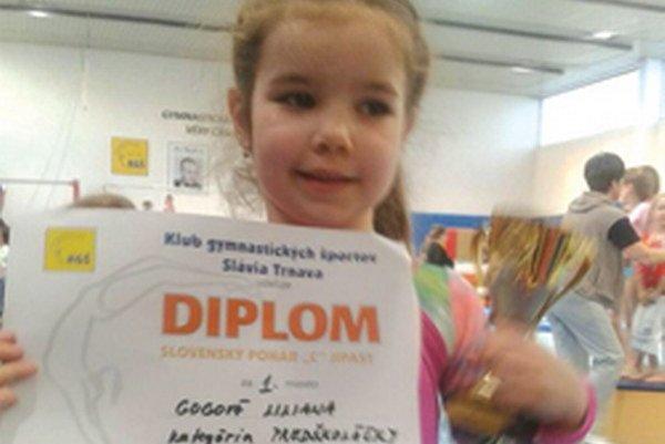Lilianka Gogová – 1. miesto v kategórii predškoláčka.
