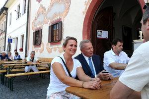 Na jarmok zavítal aj bývalý prezident Rudolf Schuster.